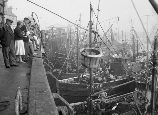 Herring Boats in Whitby harbour