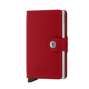 Secredi Mini Wallet Crisple Red