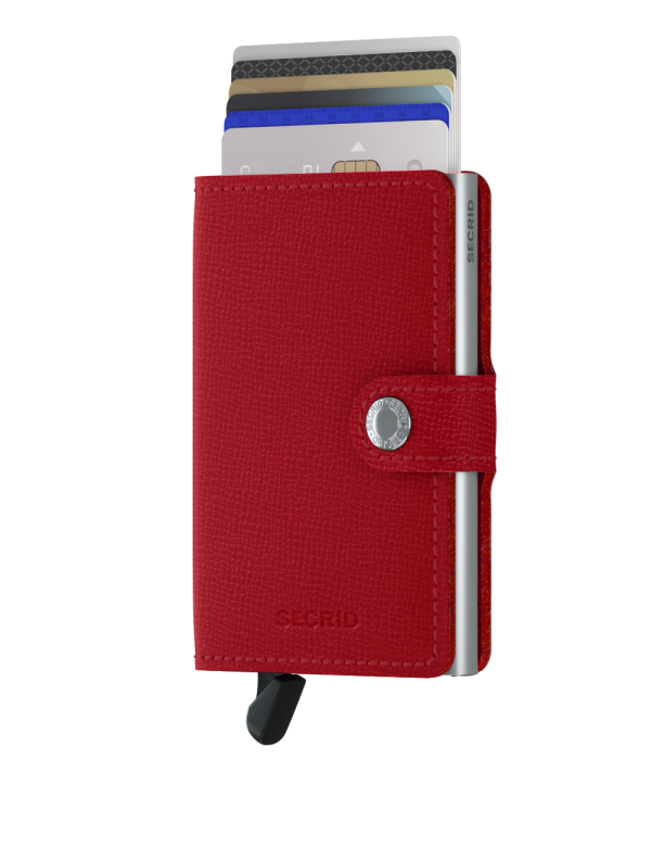 Secredi Mini Wallet Crisple Red