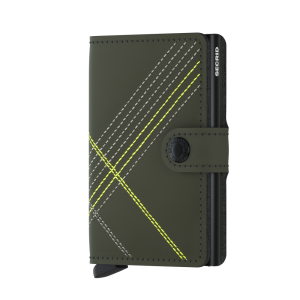 Secrid Miniwallet Lime Stitch