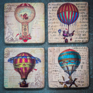 Balloon coasters