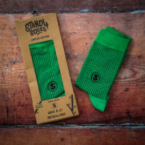 Stand4socks green bamboo microloan edition